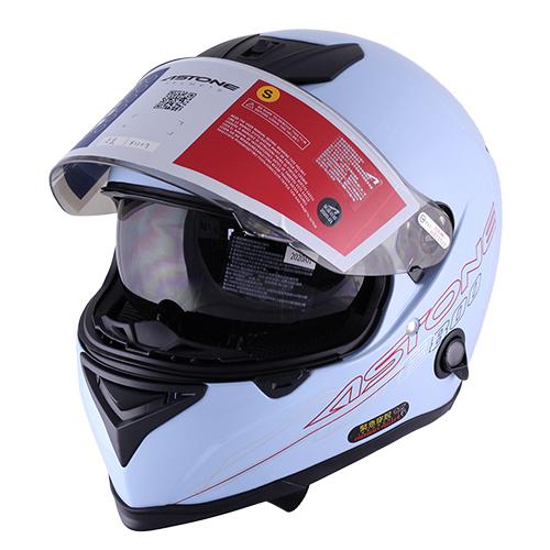 【東門城】ASTONE GTB800 AO12 淺藍 全罩式安全帽 雙鏡片