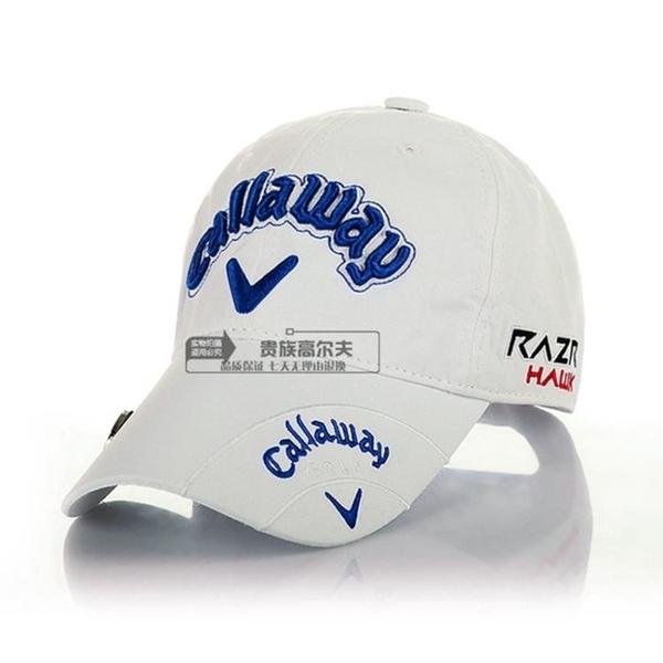 高爾夫帽包郵高爾夫球帽 男女高爾夫帽子 帶MARK帽子高爾夫棒球帽 多色