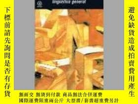 二手書博民逛書店Curso罕見de Linguistica general  Course in General Linguist
