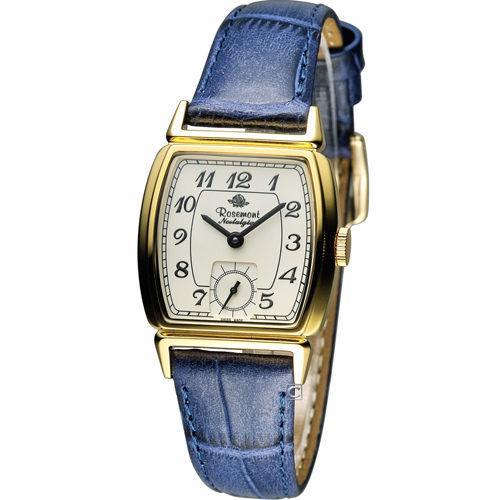 Rosemont 戀舊系列 酒桶型時尚腕錶 TN005-YW-EBU