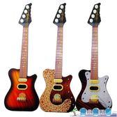 兒童益智音樂玩具卡通迷你樂器仿真四弦可彈奏小吉他LY3883『愛尚生活館』