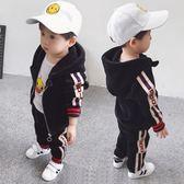 男寶寶秋冬裝男童兒童套裝0運動1金絲絨2男孩衣服3歲4加絨5帥氣潮  Cocoa