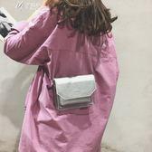夏季包包女潮時尚氣質韓版透明百搭斜背單肩小方包        伊芙莎