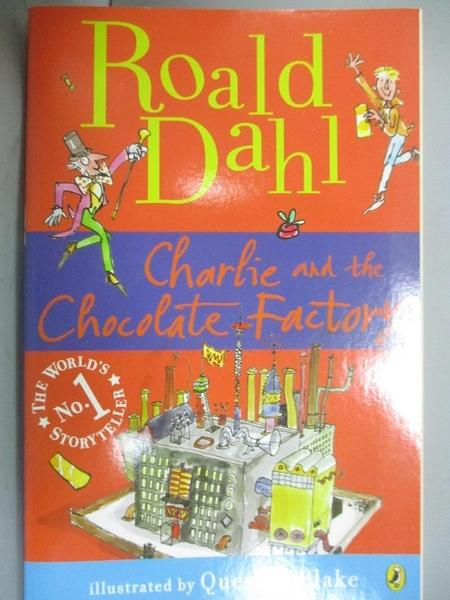 【書寶二手書T2/原文小說_IGA】Charlie and the Chocolate Factory_DAHL, RO