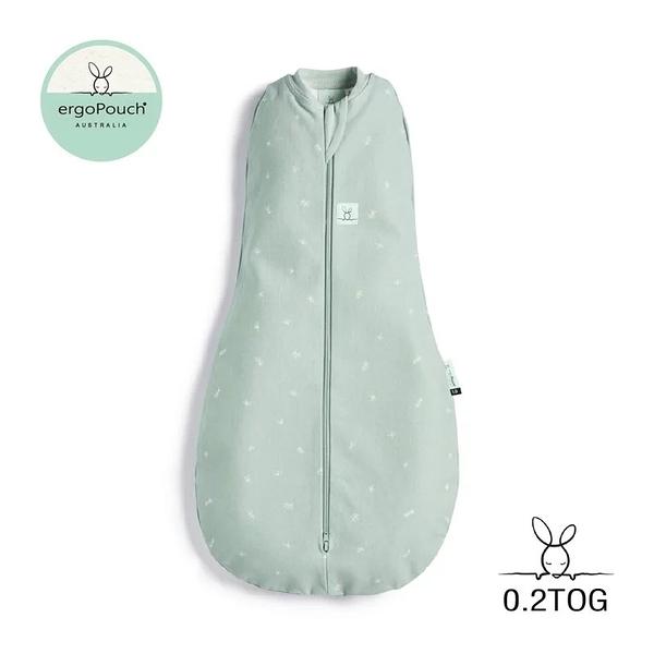 澳洲 ergoPouch ergoCocoon 二合一舒眠包巾 0.2TOG 蘇答綠款(有機棉)[衛立兒生活館]