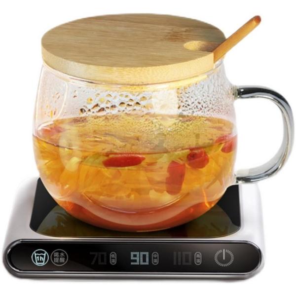 USB加熱杯墊牛奶杯神器加熱器底座暖暖杯宿舍辦公室保溫恒溫杯墊 「限時免運」
