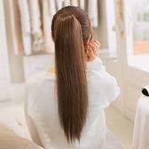 假馬尾-長直髮自然無痕仿真女假髮3色73rr55【巴黎精品】