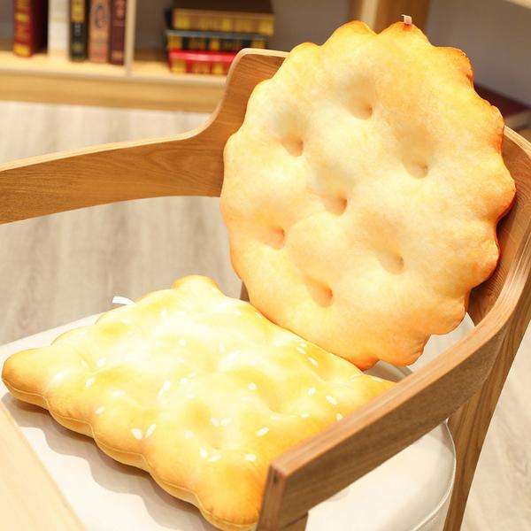 好吃餅乾彈力坐墊 兩種可選 棉床本舖
