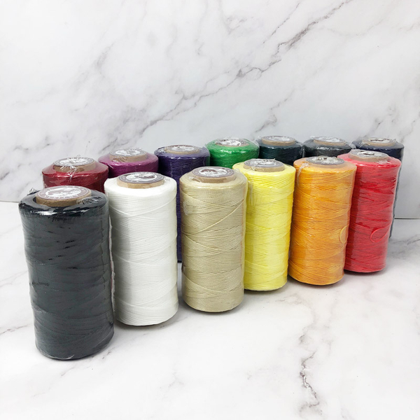 210D-多色可選-(手縫扁蠟線/腊線/手縫線)皮雕 皮革 拼布 手創 DIY