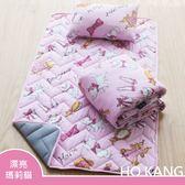 【HO KANG】迪士尼正版授權 三件式兒童睡墊組- 漂亮瑪莉貓
