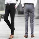 2020夏季新款男裝長褲子韓版修身直筒西裝褲男士青年薄款休閒褲潮 黛尼時尚精品
