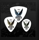 ☆ 唐尼樂器︵☆美國 Clayton Acetal Polyman 白色老鷹款民謠吉他/電吉他/電貝斯 Pick 彈片