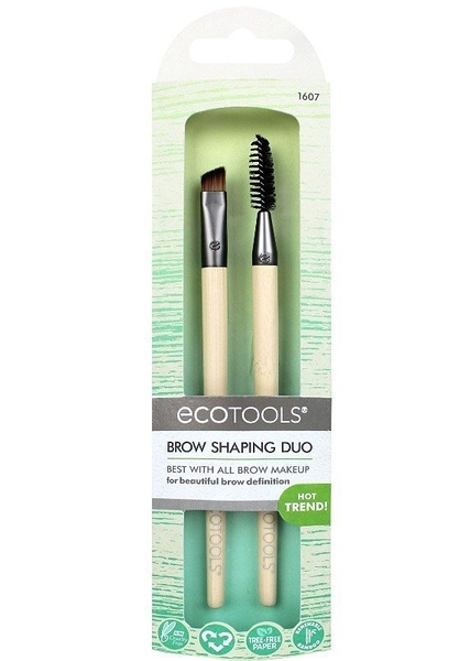 EcoTools Brow Shaping DUO 眉刷 眉梳 刷具組 #1607【愛來客 】新款美國