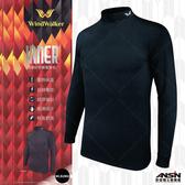 [安信騎士]  Windwalker WLS1902 遠紅外線 發熱衣 高質感 棉柔內刷毛 立體剪裁 台灣製 風行者
