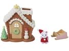 日本EPOCH 森林家族 聖誕房屋組EP14082 原廠公司貨
