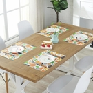 簡約餐墊子西餐廳飯桌歐式隔熱防水防油PP廚房茶杯碗菜盤防燙家用·享家