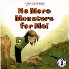 〈汪培珽英文書單〉An I Can Read系列  NO MORE MONSTERS FOR ME L1 (單CD)
