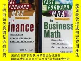 二手書博民逛書店The罕見Fast Forward MBA in Busines