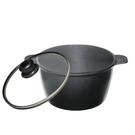 派樂嚴選 遠紅外線航鈦合金歐式調理鍋(24公分) 遠赤外線鍋 砂鍋 養生湯鍋含蓋火鍋 燉鍋 滷鍋