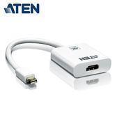 【ATEN 宏正】4K Mini DisplayPort 轉 HDMI 主動式轉接器(VC981)