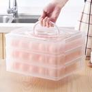 冰箱雞蛋收納盒多層家用手提裝蛋盒防震便攜...