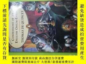 二手書博民逛書店Confessions罕見of an English Opium-eater (Penguin Popular C