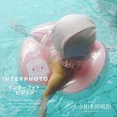兒童游泳圈腋下圈寶寶充氣救生圈男孩女孩嬰幼兒1-3-6歲浮圈游泳-大小姐韓風館