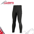 【Sub Zero 英國 MERAKLON+ 內層刷毛長褲《黑》】MERAKLON/內搭褲/保暖褲