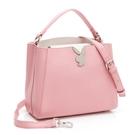 PLAYBOY- 手提包附長背帶 Plain系列-粉色