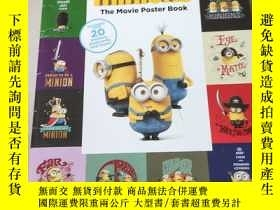二手書博民逛書店The罕見Movie poster book:電影海報書Y212829