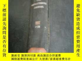 二手書博民逛書店the罕見refractories journal 1958(耐
