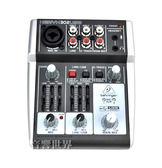 【音響世界】德國BEHRINGER XENYX 302USB超精巧3軌USB混音器