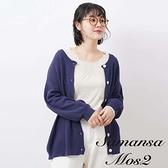 「Hot item」2way圓領開襟罩衫 (提醒 SM2僅單一尺寸) - Sm2