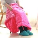 寢居小毛毯 加厚被子單人冬季三層珊瑚絨毯子蓋腿學生棉絨辦公室午睡毯【快速出貨八折搶購】
