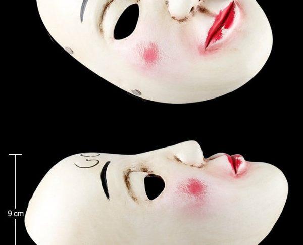 【發現。好貨】恐怖全臉半臉面具電影人類清除計畫同款面具 樹脂面具