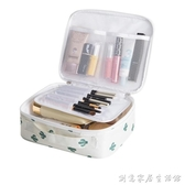 化妝箱ins 網紅化妝包小號便攜韓國簡約大容量旅行隨身少女心品袋收納盒12 02