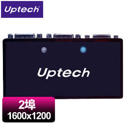 Uptech 登昌恆 VS200 2埠VGA分配器