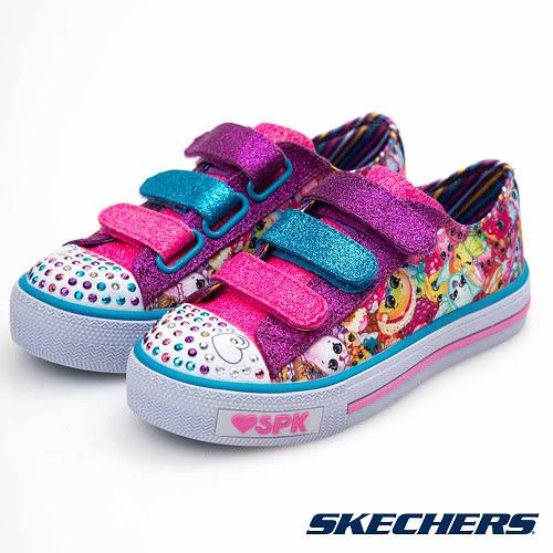 SKECHERS (童) 女童系列 SHUFFLES Shopkins - 10843LMLT