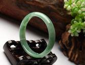 優惠兩天 天然新疆昆侖白玉手鐲女款天然淺綠色玉鐲子羊脂級