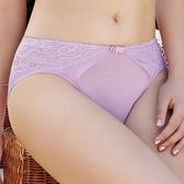 【曼黛瑪璉】Hibra大波中腰三角棉褲(晶燦紫)(未滿3件恕無法出貨,退貨需整筆退)