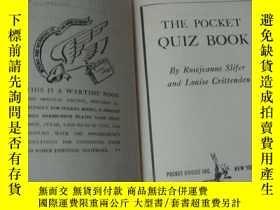 二手書博民逛書店THE罕見POCKET QUIZ BOOK:4000 quest