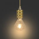 18PARK GOLD-單燈+(金)編織線含LED-8W鑽石燈泡-生活工場