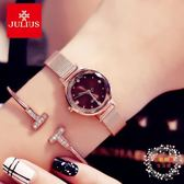 流行女錶正韓時尚手?女錶學生百搭防水石英小錶盤手錶 XW