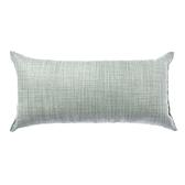 HOLA 素色雅韻織紋抱枕30X60CM-薄荷綠