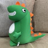 小恐龍公仔軟體泡沫納米粒子顆粒怪獸布娃娃毛絨玩具男孩男生玩具
