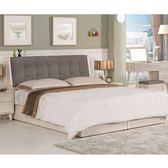 【新北大】✪ B065-1 愛莎6尺被櫥式雙人床(床頭+床底)-18購