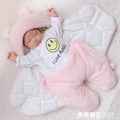 。新生兒抱被秋冬加厚保暖初生嬰兒包被春秋外出襁褓寶寶用品冬季 米希美衣