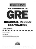 二手書博民逛書店 《How to Prepare for the GRE with CD-ROM》 R2Y ISBN:0764178784│Barrons Educational Series