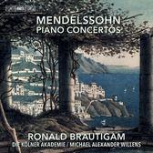【停看聽音響唱片】【SACD】孟德爾頌:兩首鋼琴協奏曲 羅納德.布勞提岡 鋼琴