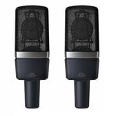 【音響世界】AKG C214 Pair 經典多功能電容式配對麥克風組/與C414齊名((附兩條Pro Co 5米線) 含稅保固